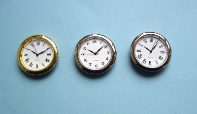 Clock Insert Movements, Skeleton Clock Inserts for Woodturners